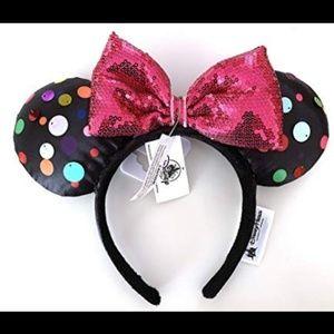 NWT!! Rock the Dots Mickey Ears